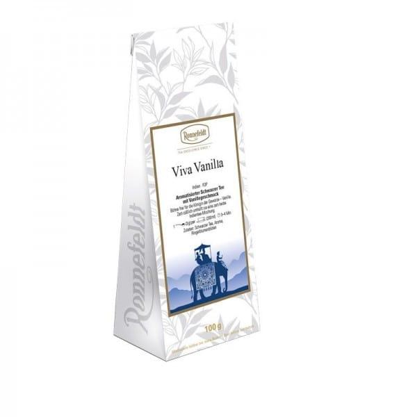 Viva Vanilla (ehem. Bourbon Vanilla) aromatisierter schwarzer Tee 100g