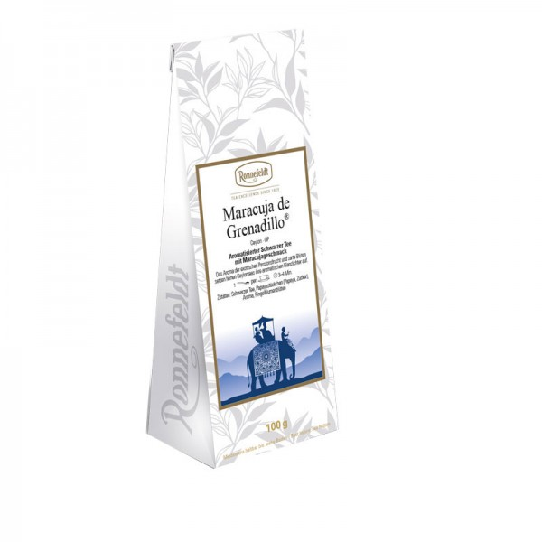 Maracuja De Grenadillo aromatisierter schwarzer Tee 100g