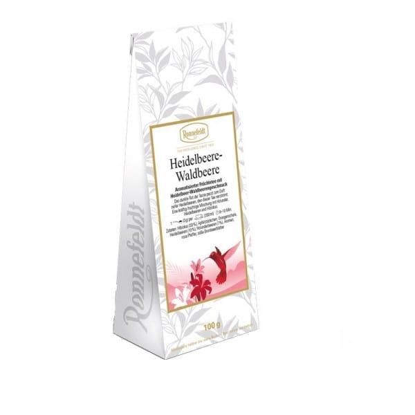 Heidelbeer-Waldbeere aromatisierte Früchtetee 100g