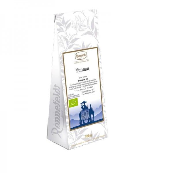 Yunnan Bio schwarzer Tee aus China 100g