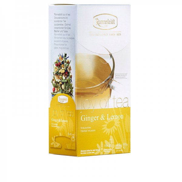 Ginger & Lemon - Teabag - whole leaf