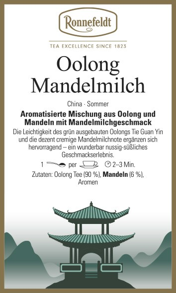 Oolong Mandelmilch