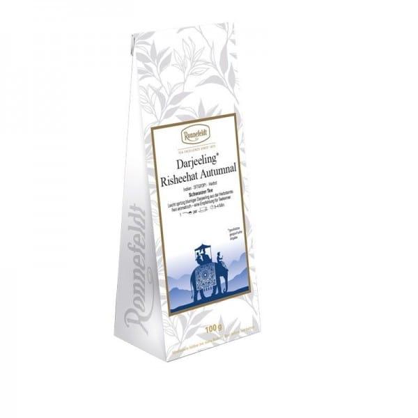 Darjeeling Risheehat Autumnal Bio schwarzer Tee 100g
