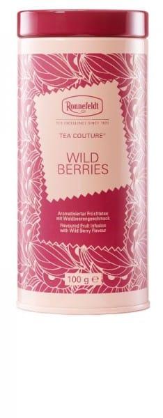 Tea Couture Wild Berries aromatisierte Früchtetee 100g