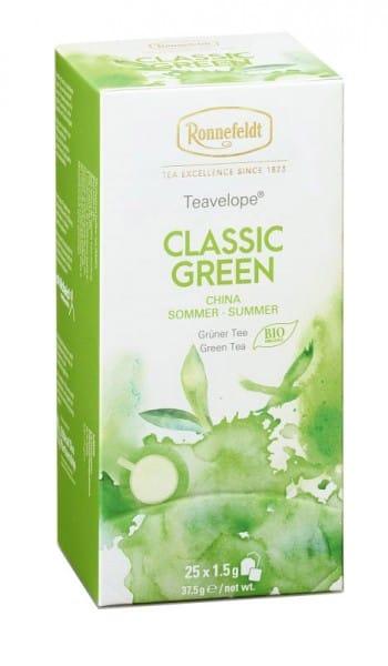 Teavelope Classic Green Bio grüner Tee 25 Teebeutel 37,5g