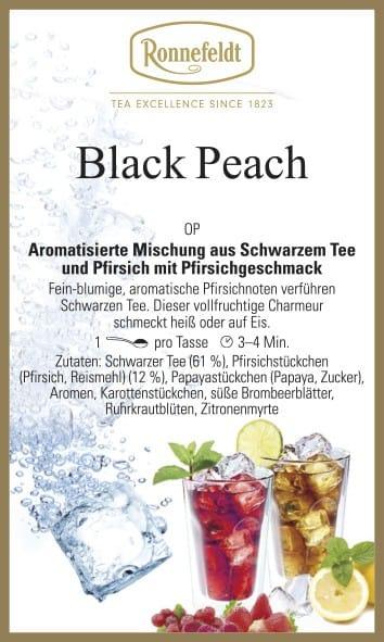 Black Peach