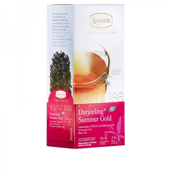 Darjeeling Summer Gold - Teabag - whole leaf