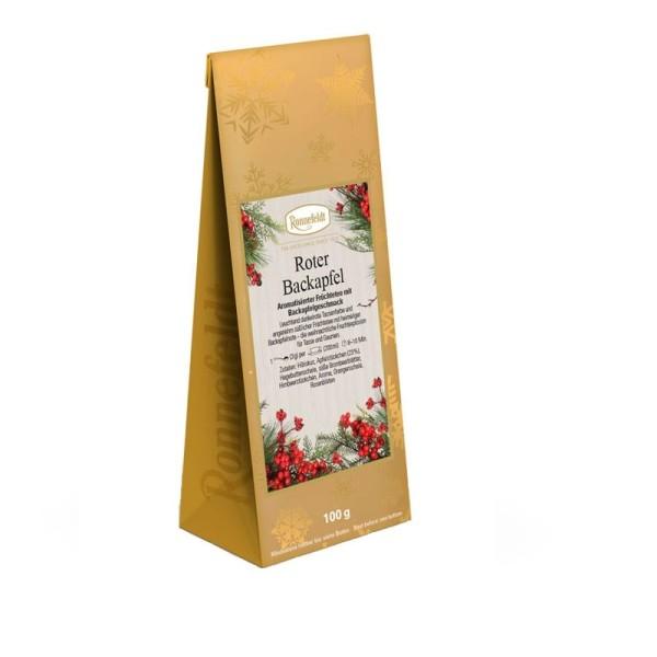 Roter Backapfel aromatisierter Früchtetee 100g