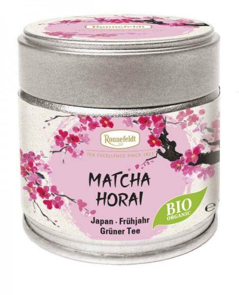 Matcha Horai Bio grünes Teepulver aus Japan 30g