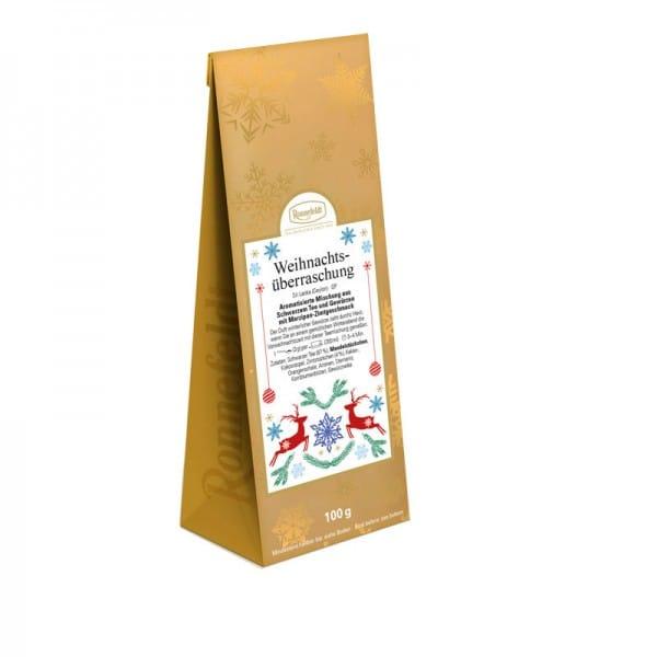 Weihnachtsüberraschung aromatisierter schwarzer Tee 100g